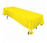 Free Shipping hot selling Lemon Rectangular polyester 60*126 in table cloth