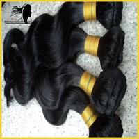 Virgin brazillian body wave hair extension,virgin human hair weave,4pcs lot,400g/lot,grade aaaaa,free shipping