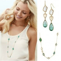 Free Shipping /S-D-J/Pippa Necklace + Pippa EARRING