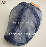 Wholesale women and men popular classical denim beret hat