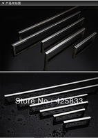 6pcs 128mm 304 Stainless Steel Kitchen Cabinets Door Knobs Square Tube Drawer Knobs and Dresser Pulls Wholesale