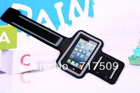 High quality Solf elastic Belt Sport Running Armband Case Cover For Iphone 5 5S 5C free shipping