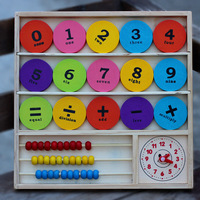 Montessori Baby Toy Early Educational Rainbow Wooden Math Teaching Toys