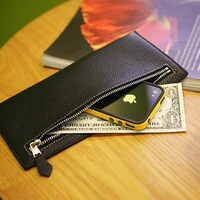 Male long design wallet wallet men's clutch man bag zipper bag