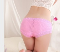 4 pairs/lot women's bamboo underwear soft lady's underwear