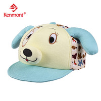 free shipping 2013 new Kenmont baby hat cartoon child baseball cap male female child ear protector cap animal cap km-4855