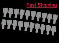 20 pcs/lot M3*6 + 6mm Plastic Nylon Pillar Hex Spacer Male/Female for FPV, Multicopter, flight controller amount