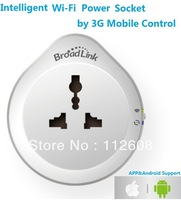 Intelligent Wi-Fi Power Socket by 3G Mobile Control Intelligent Power Outlet Switch timer Socket