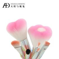 Cosmetic brush cosmetic tools cosmetic brush set love set flower brush set brush