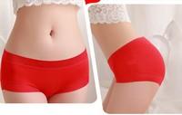 4 pairs/lot women's modal shorts lady's shorts girls' underwear multicolor