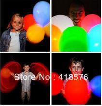 wholesale purple led balloons