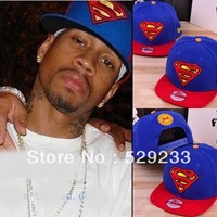 HOT Superman Punk swag snapback hat Basketball letter baseball caps hip hop hat cap hats for men women