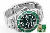 BRAND Men's 116610 STYLE GREEN CERAMIC GREEN DIAL 116610LV 40 mm Sapphire Glass Stainless Steel Oyster box watches