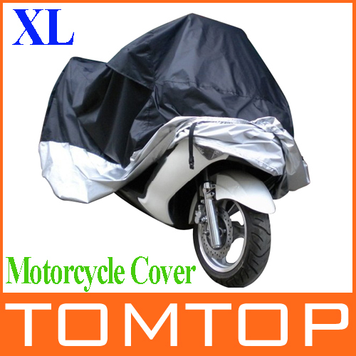 Big Size 245*105*125cm Motorcycle Covering Waterproof Dustproof Scooter Cover UV resistant Heavy Racing Bike Cover wholesale(China (Mainland))
