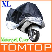 Big Size 245*105*125cm Motorcycle Covering Waterproof Dustproof Scooter Cover UV resistant Heavy Racing Bike Cover wholesale