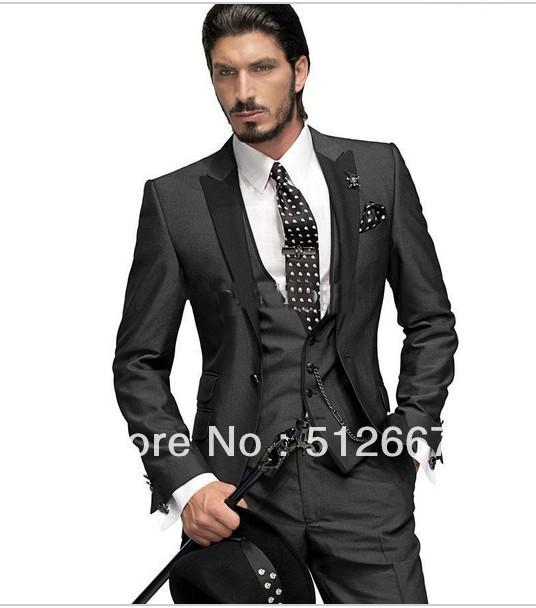2014 Cheap Groom Tuxedos New