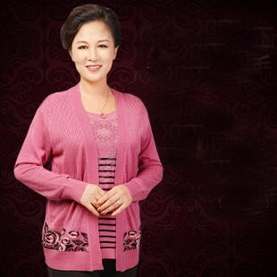 Модный Mother Garment 2014  Средний-aged Женщины свитерs Several Цветs for Selecting