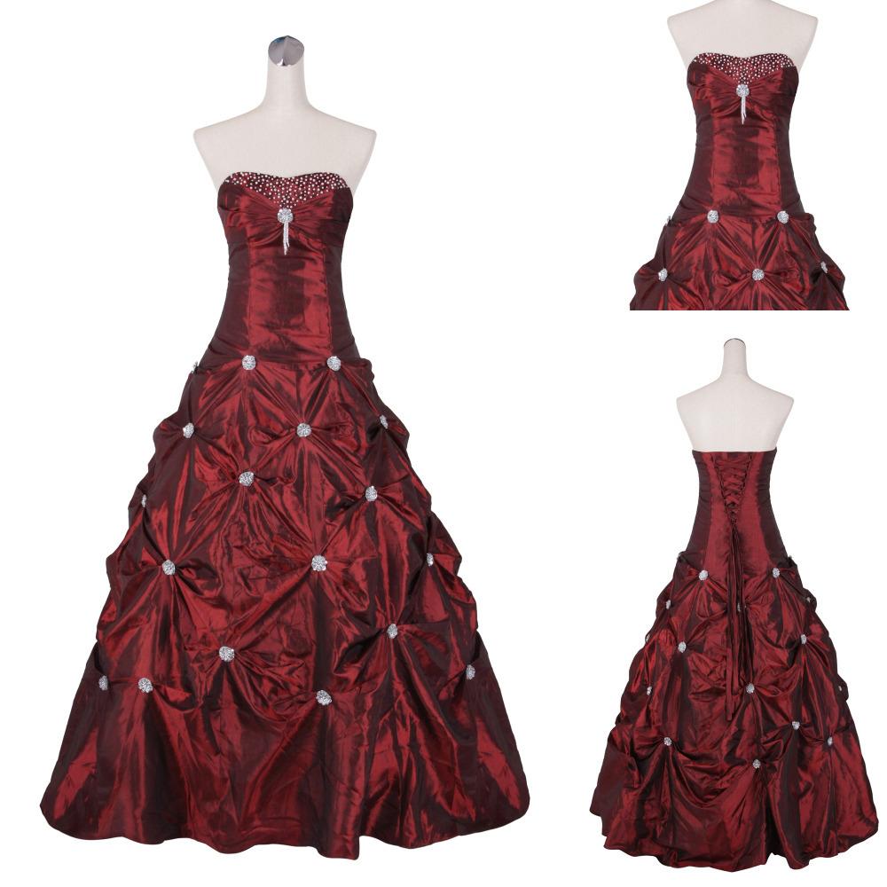 EE 065 Cheap Plus Size Tea Length Plus Size Wedding Dresses Under 100