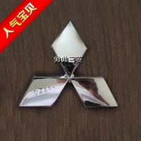 Mitsubishi emblem v3 lancer lexus v5 refit MITSUBISHI 6cm 8cm the sign