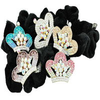 Min Order $5 (Mix Order) Fashion Jewellery Latest Crystal Crown HairBand Rhinestone Hairband Free Shipping