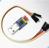 Freeshipping UART CP2102 module flash download line  USB to TTL USB turn a serial port module