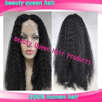 Beauty queen mongolian kinky curly hair u part wig & african american curly wigs