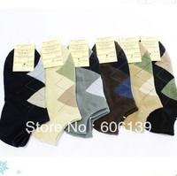 Men color  socks men winter sock wholesale A045  men casual  cotton gentleman sock 10pair/lot Free Shipping