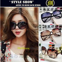 Vintage circle frame sunglasses influx of people in Europe and America star models Ms. toad glasses wholesale sunglasses