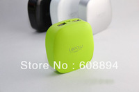 Post Free,1pc Orginal 6000mAh portable battery charger Lepow Stone power bank for phone iPad iPhone Nokia HTC Mobile power