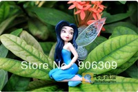 Free Shipping Tinkerbell Fairy Adorable tinker bell Figures toy PVC doll baby toys 6pcs=1set, 12sets