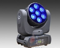 led moving beam head light 7*12w dmx light ,led hight power moving head dmx light