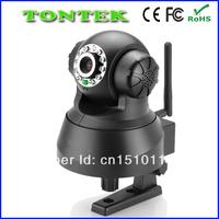 New P2P Plug&Play WiFi Wireless WPA Internet Dual Audio IR Night Vision PanTilt CCTV Security Webcam Network IP Camera  TT-0008W