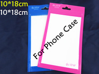 10*18CM new retail plastic bag for cover case/oppo bag for cover case.retail package for cover case black pink blue