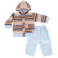 Hudson Baby Boys Girls Fleece Hoodie + Pants ,Baby clothing set  Zipper closure suit Super Soft Fleece long sleeve suit