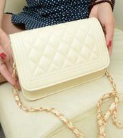 2013 New Arrival women's louis handbag plaid chain bag fashion High quality PU bags totes Brand designer handbags