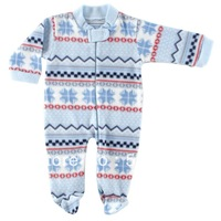 Hudson Baby Boys Girls Fleece Zipper Sleep N Play Baby Clothing Romper ,0-12 months