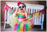 Princess Petti Tutu,girls tutu skirt , baby tutu ,Rainbow Toddler tutu skirt , MOQ 1 pc