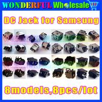 8 models,8pcs/lot,DC Jack Connector for Samsung laptop NP300 NP-RV410 RV415 RV510 RV511 RV515 RV520 RV720 RC510 RF510 RF710