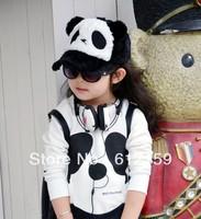 2013 Korea design cartoon panda baseball cap