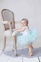 Princess Petti Tutu,girls tutu skirt , baby tutu ,Light blue Toddler tutu skirt , Photography prop MOQ 1 pc