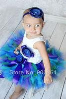 Princess Petti Tutu,girls tutu skirt , baby tutu ,Blue Toddler tutu skirt , Photography prop MOQ 1 pc