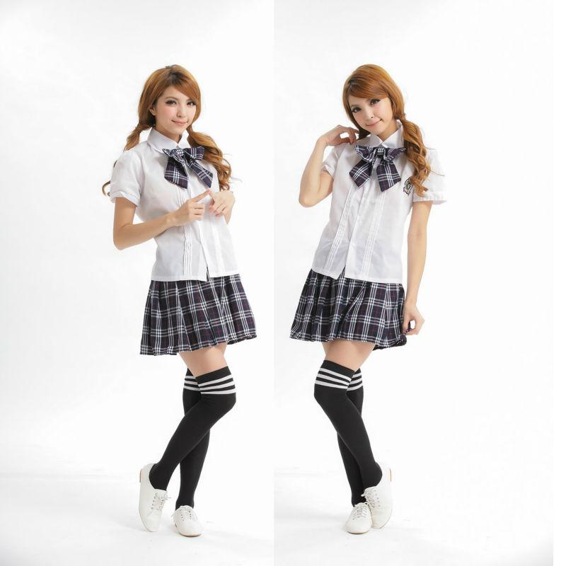 gratuite dames femmes lingerie sexy jupe uniforme scolaire( court ...