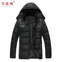 Free shipping,  Men's clothing thickening wadded jacket winter coat medium-long cotton-padded jacket thermal clothing