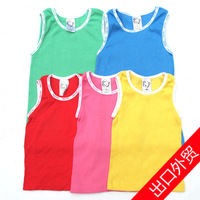 free shipping Target baby top newborn clothes children's clothing vest 100% 023 cotton thread