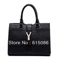 100% Genuine leather women Y vintage bags 2013 female cowhide women's one shoulder cross-body handbag
