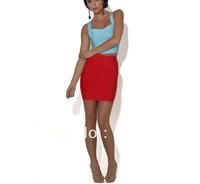 2013 free shipping elastic  hl elastic  bandage skirts Mini sexy women  pencil clubwear skirt