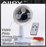 2013 nwe design lamp DVR  Infrared  Security Camera High Definition 720P IR  Security Camera DVR H.264 Motion Detect