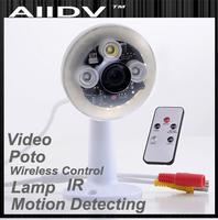 2013 nwe design lamp DVR  Infrared  Security Camera High Definition 720P IR  Security Camera DVR H.264 Motion Detect