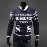 2013 men's o-neck onta sweater christmas sweater pullover sweater men's clothing