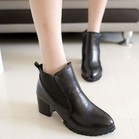 Sweet excellent fashion elastic wedges martin boots fashion boots elegant female boots single shoes